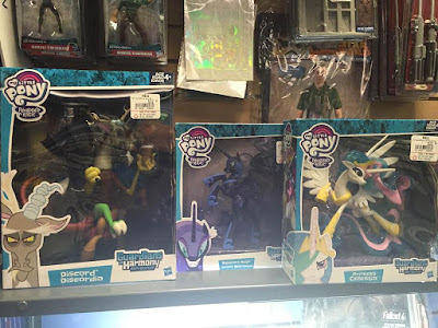 Guardians of Harmony Nightmare Moon, Discord, Celestia at Gamestop