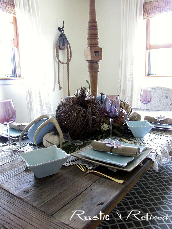 Small budget Fall Tables