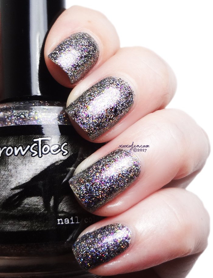 xoxoJen's swatch of Crows Toes: Abracadabra
