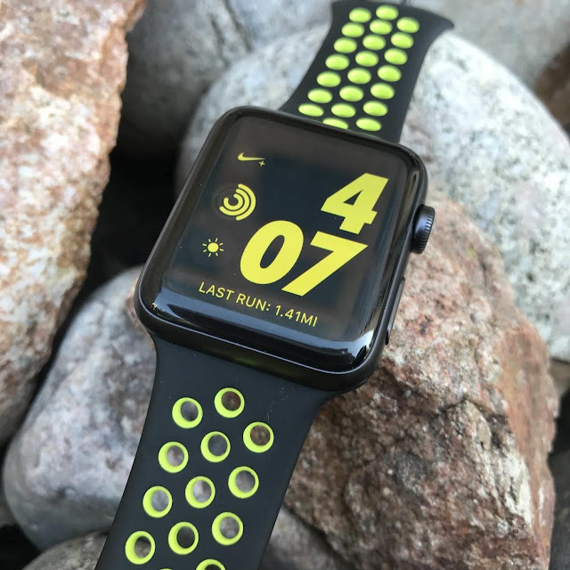 apple watch nike plus series 2 activity tracker fitness running swimming heart rate monitor nike plus run club