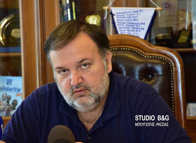 Χειβιδόπουλος: Υπαιτιότητα του Δήμου Άργους Μυκηνών η μη λειτουργία του ηλεκτροφωτισμού στη θέση έναντι εργοστασίου Φραγκίστα - Δαλαμανάρα