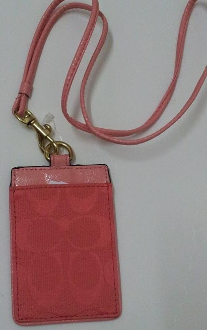 MAD FOR COACH: Coach Signature Lanyard ID Badge Holder ...