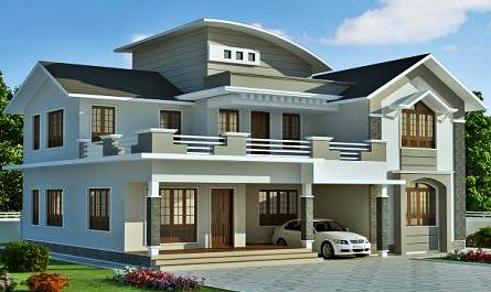 Trend Desain Rumah Minimalis 2 Lantai 2016 - European Style - Mewah dan Ekslusif