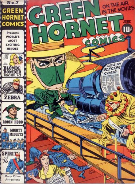 Jack Kirby Green Hornet