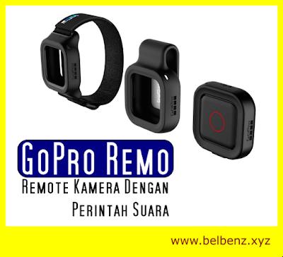 GoPro Memperkenalkan Produk Baru, Remote Kamera Dengan Perintah Suara