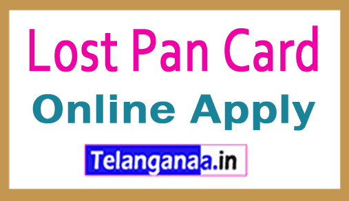 Apply for Lost Pan Card India