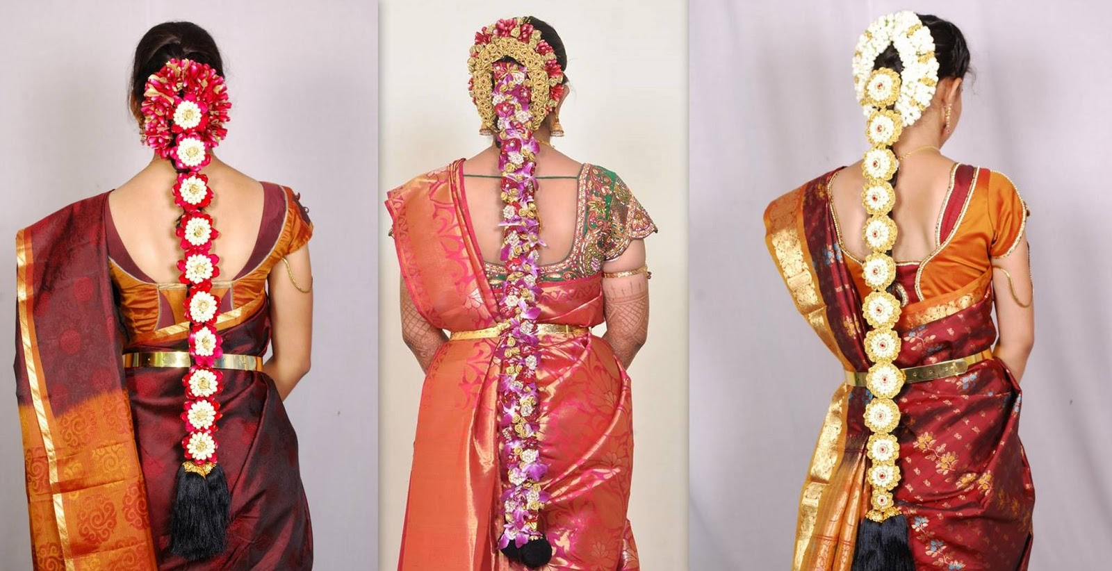 south indian bridal hair styles �south india fashion