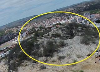 Alto do cruzeiro é um dos garimpos a céu aberto mais antigo de Picuí