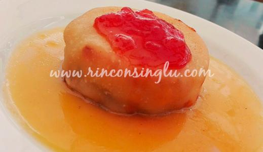 pastel de pescado sin gluten en taberna cabildo