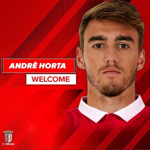 Oficial: El Benfica cede a André Horta al Sporting de Braga