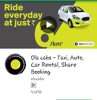 Ola BikeRide - First Ride Only 1 Rs. (Selected City)