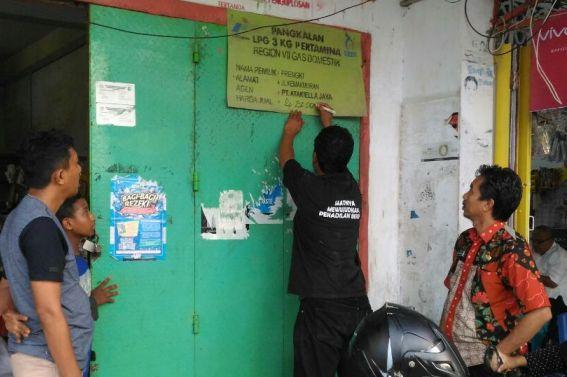 Pemerintah Tertibkan Pengecer, LPG Di Benteng Selayar