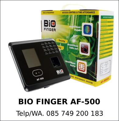 Penyedia Mesin Absensi Bio Finger AF-500