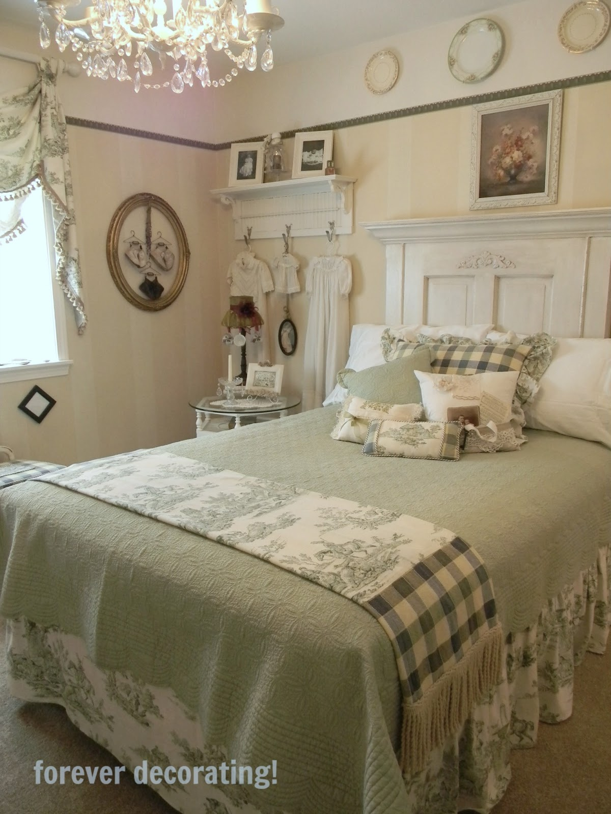 Mackenzie Bedroom Set In White: Forever Decorating!: Guest Bedroom Reveal