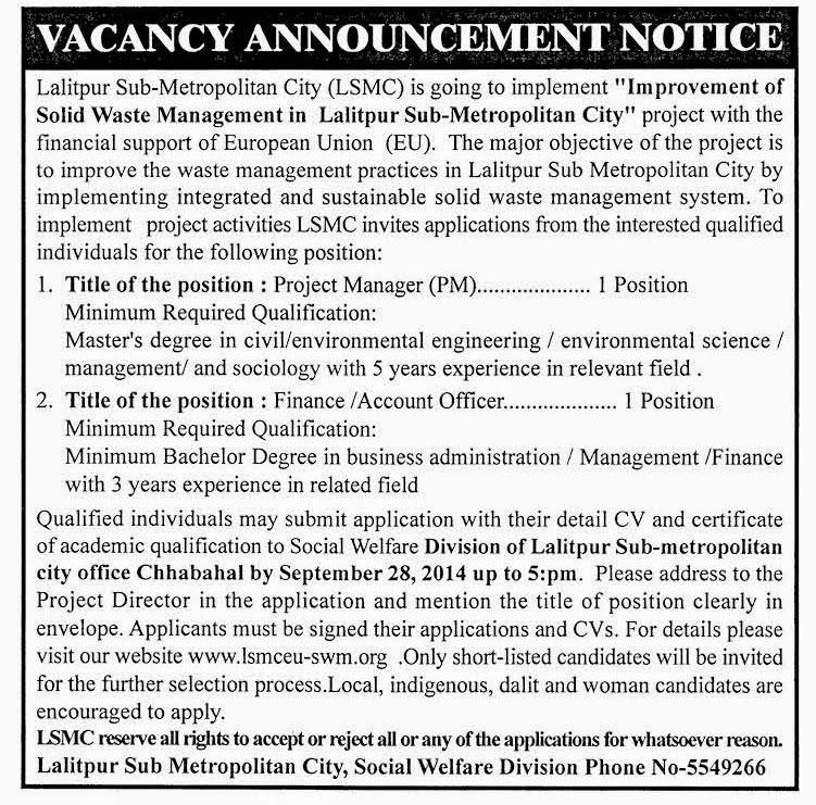 Jobs in Nepal: List of Job Site in Nepal