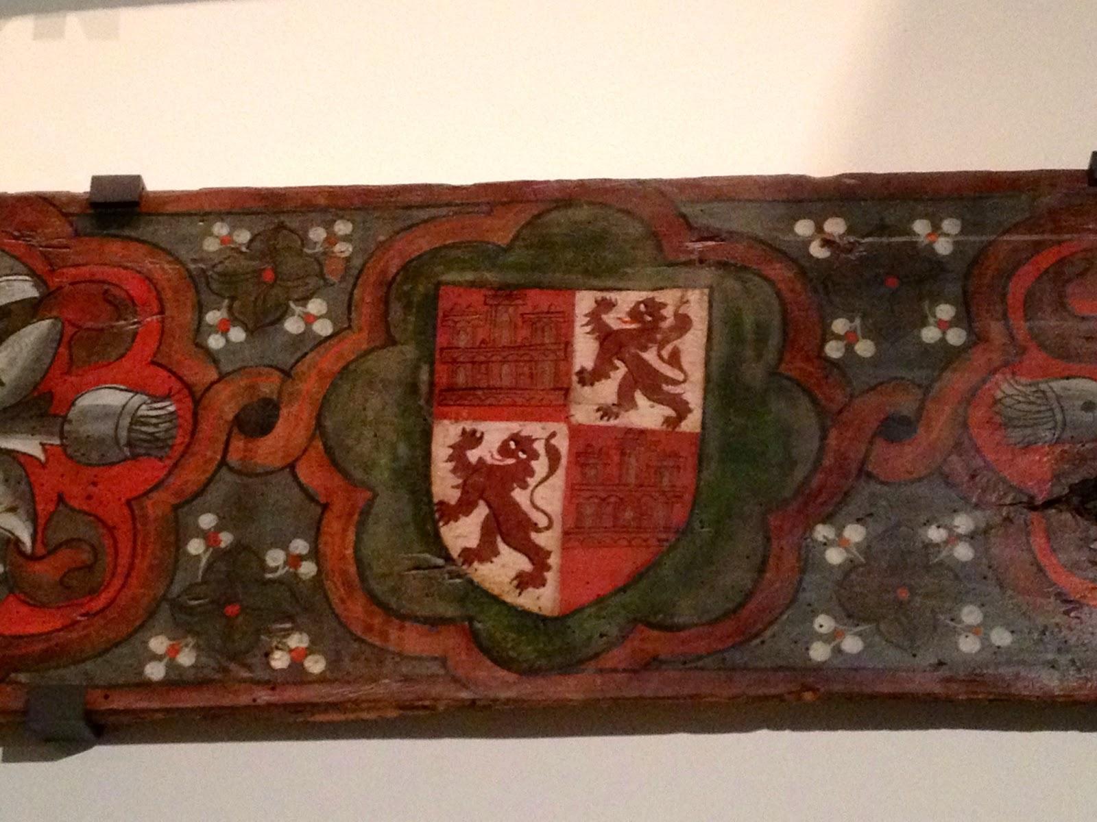 Escudo de los Reyes Católicos - RRCC - Museo Arqueológico Nacional - MAN - Madrid el troblogdita