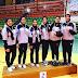 جامعة قناة السويس تحصد المركز التانى فى كرة السلة بنات في أولمبياد فتيات الجامعات المصرية