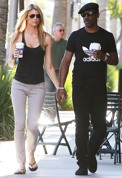 Eddie Murphy with His New Girlfriend Paige Butcher