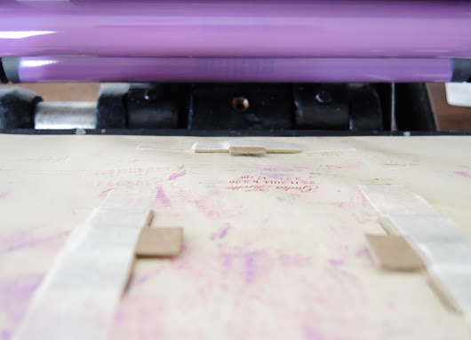 Mini DIY :: Paper Gauge Pins For Letterpress