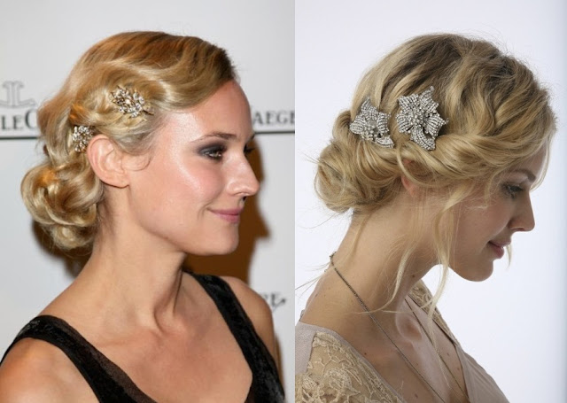 Wedding Hairstyles For Short Hair 2012: GoS: Hair Inspiration For The Vintage Bride