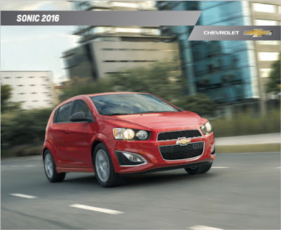 Downloadable 2016 Chevrolet Sonic Brochure