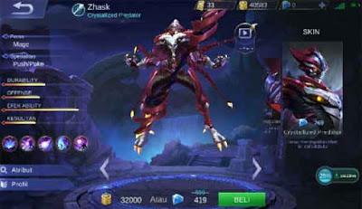 battle point untuk beli hero di mobile legends .psd