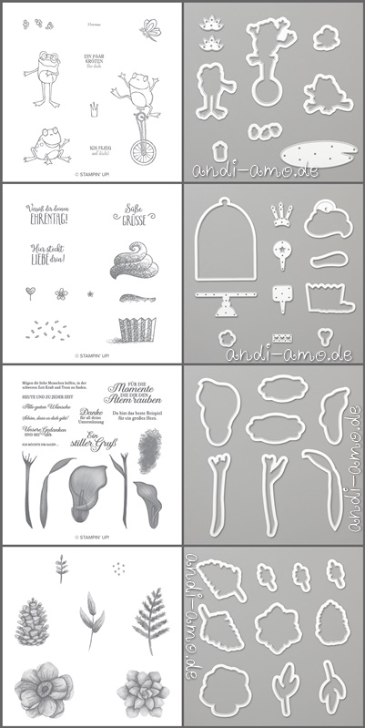Sale-A-Bration Gratis Stempelsets und passende Framelits
