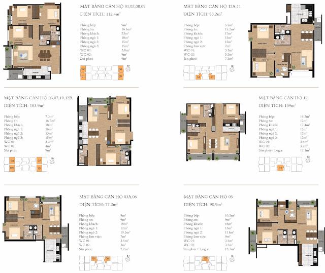 Thiết kế căn hộ dự án chung cư One18 Long Biên