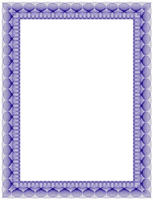Bordes Decorativos Bordes decorativos de diplomas para imprimir - certificado de reconocimiento para imprimir