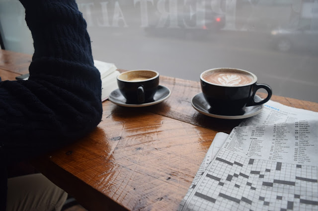 Family Day Coffee Date at Box Car Social and a Walk in the Park - TheCraftyMann.Blogspot.ca
