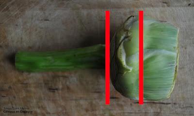 comment eplucher artichaut