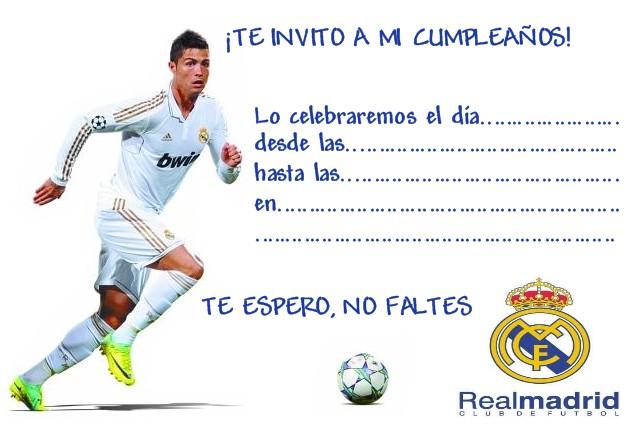 Imprimir Invitaciónes De Cumpleaños Futbol Imagui