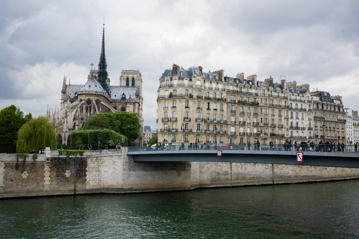 the Seine and the Notre Dame, 48 hours in Paris