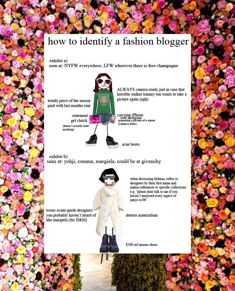 flo HOW TO IDENTIFY A FASHION BLOGGER NEW IN SCOPES