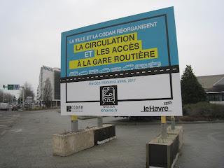 Gare routière du Havre interdite aux voitures