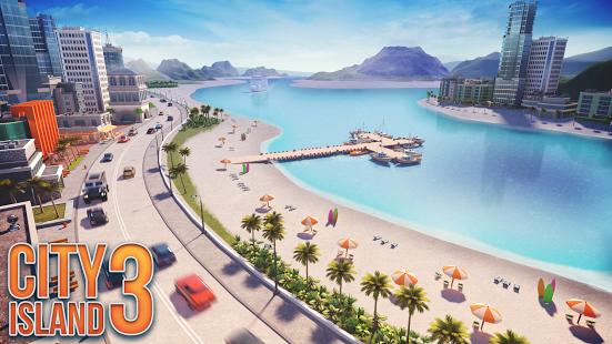 تحميل لعبة City Island 3 v1.6.3 مهكرة للاندرويد