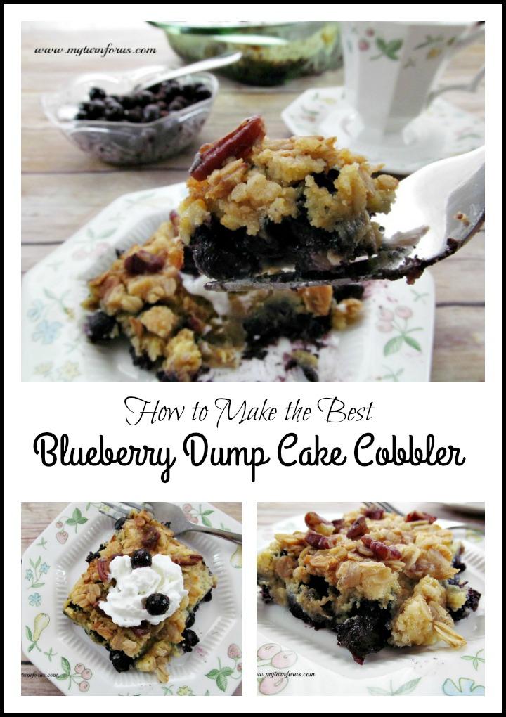 easy dessert, blueberry dessert