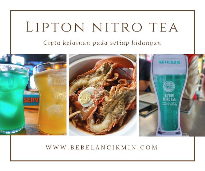 Gabungan Rasa Lipton Nitro Tea  & Makanan Mewah di High Line Roof Top Market Cipta Kelainan Pada Setiap Hidangan