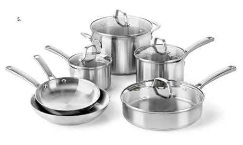 best stainless steel cookware review