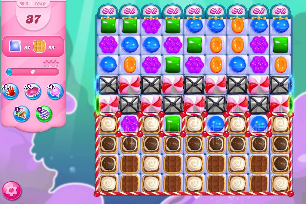 Candy Crush Saga level 7649