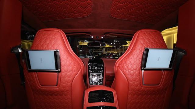 疲れそうなくらい内装が真っ赤な「アストンマーティン・ラゴンダ・タラフ」がドバイにて販売中。