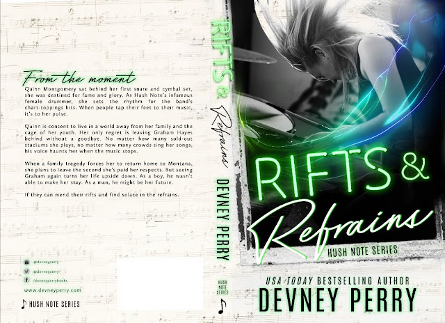 The Hush Notes Series Cover Reveal: Rifts & Refrains by Devney Perry + Giveaway