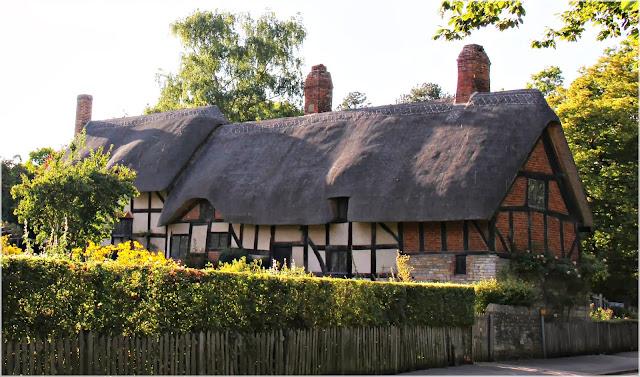 Casa de Anne Hathaway em Stradford Upon Avon, casas medievais