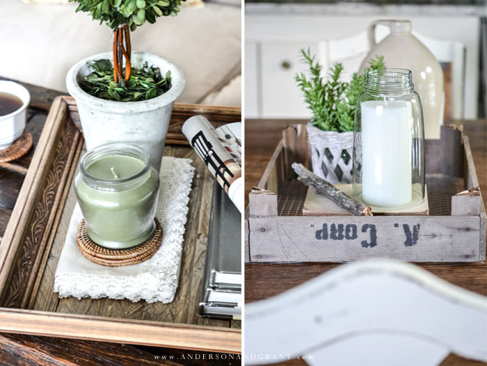 Farmhouse DIY Trays