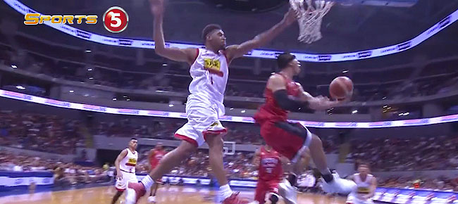 LA Tenorio's NASTY Move On Tony Mitchell (VIDEO)