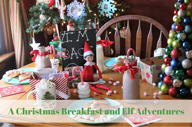A Christmas Breakfast and Elf Adventures