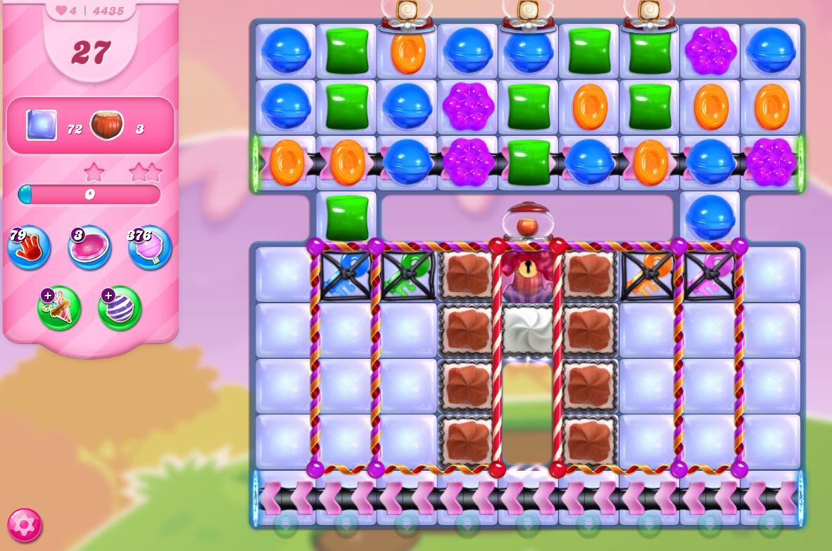 Candy Crush Saga level 4435