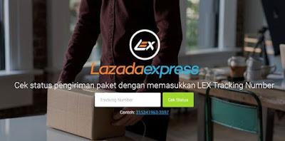 Cara Cek No Resi Lazada Express LEX Tiki JNE DLL | Cek Pengiriman