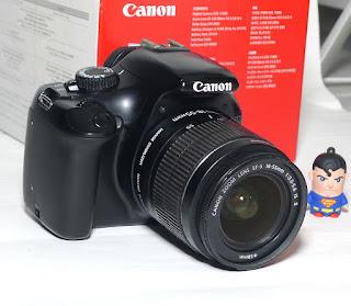 Kamera Canon EOS 1100D Fullset Bekas Di Malang