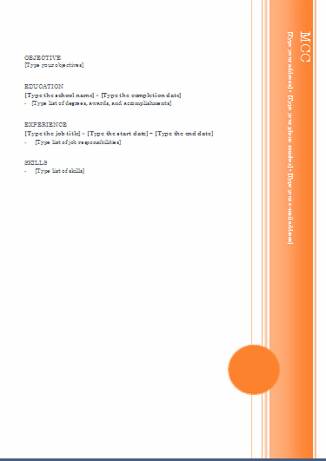 cv formats  u0026 notes  new lates cv formats 2014  cv formats  latest cv formats  orange cv formats